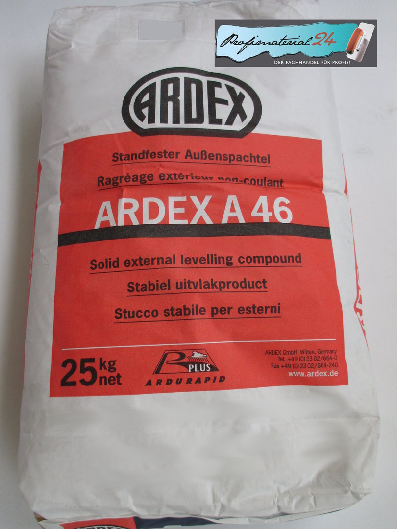 Ardex A46 Solid External Leveling Compound