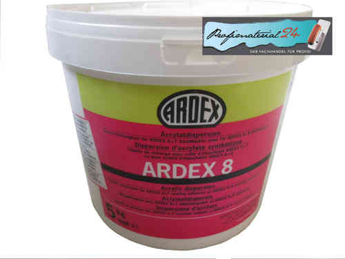 ARDEX 8, Dichtmasse (Dispersion) 5Kg