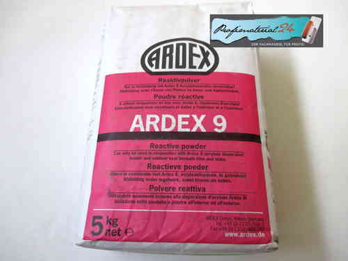 ARDEX 9, sealing (reactive powder) 5Kg