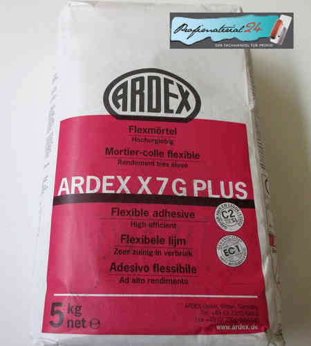 ARDEX X7G PLUS, Flexmörtel