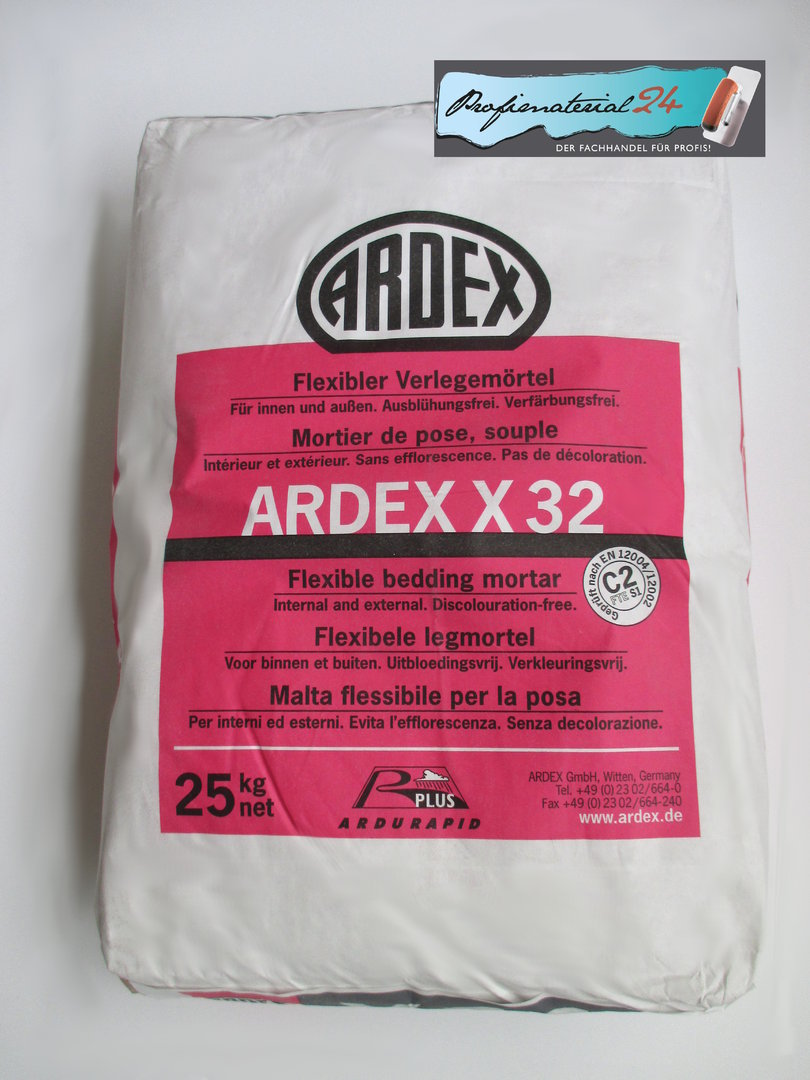 Ardex X32 Flexible Bedding Mortar For Experts And Diy