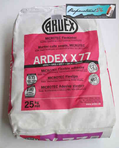 ARDEX X77, MICROTEC flexible adhesive 25Kg