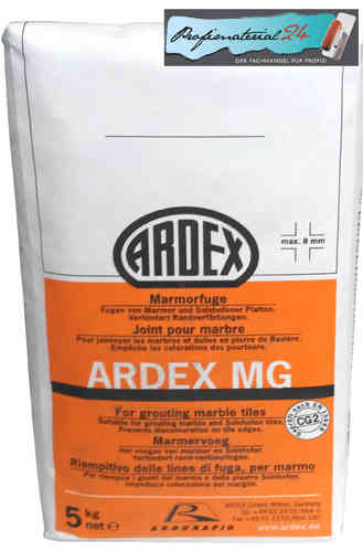 ARDEX MG for grouting marble tiles, 5kg