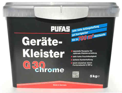 PUFAS G30 chrome paste for devices, 5kg