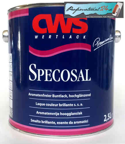 CWS Specosal colored lacquer
