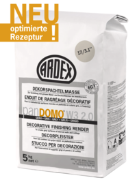 ARDEX PanDOMO W3 2.0 decorative finishing render, gray 5Kg