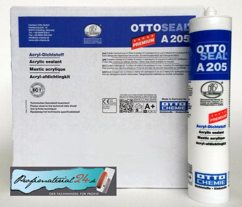 OTTOSEAL® A205 Premium Acryl Dichtstoff / weiss, 300ml