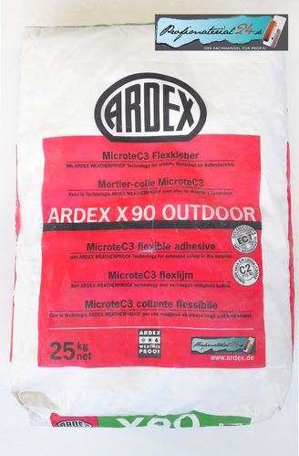 ARDEX X90 OUTDOOR, Flexkleber 25kg