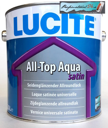 LUCITE All-Top Aqua satin
