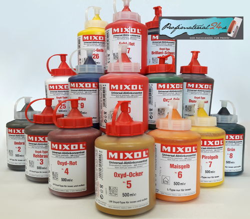MIXOL universal tinting concentrate, 0,5L