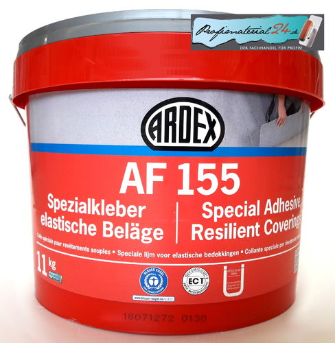 ARDEX AF155 Special adhesive for resilient coverings, 11kg